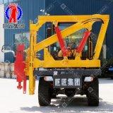 道路護欄DZC-Ⅰ型裝載式護欄打拔一體機性能穩定