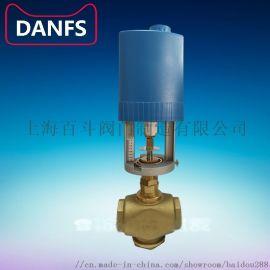 丹佛斯实业有限公司DANFS比例积分电动二通阀