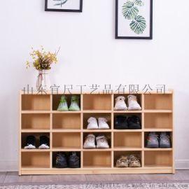幼儿园实木鞋柜儿童鞋柜宝宝家用
