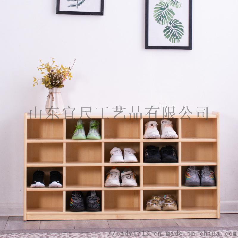 幼儿园实木鞋柜儿童鞋柜**家用