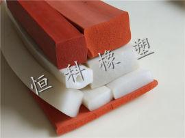 恒科u型橡胶条 橡胶发泡密封条厂家
