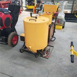 华科生产 路面冷喷划线机 小型手推划线机