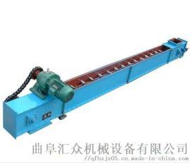 石灰粉MZ重型刮板输送机 刮板机中部槽材质 LJX