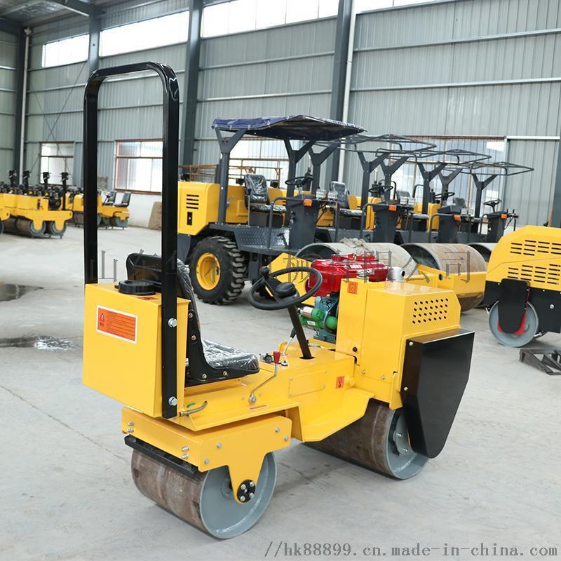 華科廠家 2噸座駕式壓路機 小型壓路機