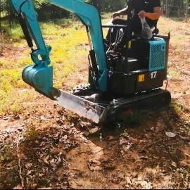 自动挖树机 挖机液压油管 六九重工lj 微型履带挖
