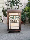 商業刻字立柱燈優質仿雲石矮柱燈辦公樓景觀柱頭燈