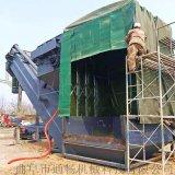 通畅集装箱卸车机 粉煤灰中转设备 码头货站拆箱机