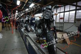广东电瓶车生产线,卡丁车装配线,三轮车组装流水线