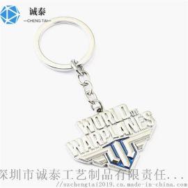 专业生产钥匙扣外贸金属钥匙扣钥匙链定制加工