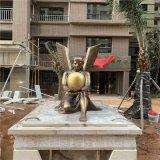 賀州樓盤小區歐式女神雕像景觀玻璃鋼仿銅人物雕塑
