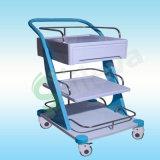 豪华治疗器械车,手术器械车,ABS梯形治疗车