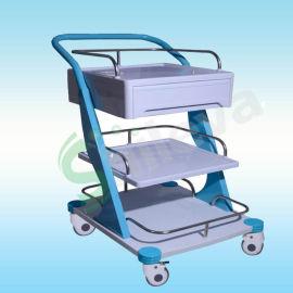 豪华**器械车,手术器械车,ABS梯形**车