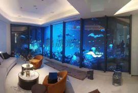 酒吧DJ台大屏幕,室内P2.5全彩LED显示屏