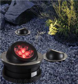 大功率偏光LED地埋灯户外防水嵌入式埋地灯