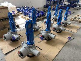 电动闸板阀, 电动刀闸阀 DN150-800可定制