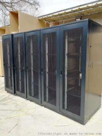 22U服务器机柜 1.2米19英寸标准机柜
