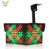 隧道600型双面红叉绿箭通行灯 LED收费站 示灯