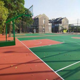 深圳篮球场施工_硅PU篮球场施工_  酸篮球场施工