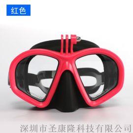2020新款儿童浮潜初学训练男女通用全干式潜水镜