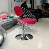 不锈钢铁网椅餐椅休闲椅