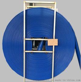 省煤矿抢险排水站抢险救援6寸聚氨酯高压排水软管