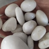 陕西白色卵石   永顺雪花白卵石出售