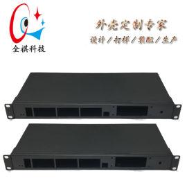 19英寸1u钣金机箱,2u3u工控服务器机箱定制
