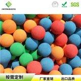 遊樂場EVA彩色橡膠彈力球各種顏色