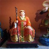 cd010福德正神,玻璃钢土地公土地婆神像生产厂家