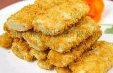 鱼片浸浆机 鱼片挂糊设备 罗非鱼片裹面包糠机
