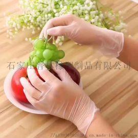 一次性pvc手套透明色聚氯乙烯材质