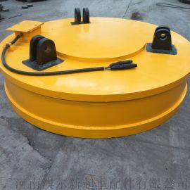 废钢吊运起重电磁铁  停电保磁电磁吸盘  工业磁铁