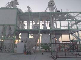 10吨的牛羊畜牧饲料颗粒机组 环模420颗粒生产线