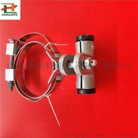 电杆用ADSS切线线夹不锈钢扎带固定