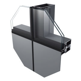 """铝塑板、玻璃幕墙 智慧""""挂钩式""""幕墙系统"""