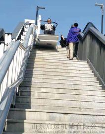 徐州斜挂平台品牌启运斜挂无障碍电梯楼道升降设备