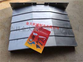 东台TMV-1350A数控机床钢板防护罩生产中