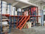 江門閣樓貨架重型倉庫貨架庫房車搭建鋼結構二層夾層