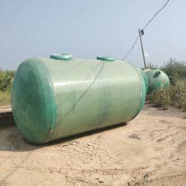 成品沉淀池 霈凯化粪池 成品玻璃钢化粪池规格