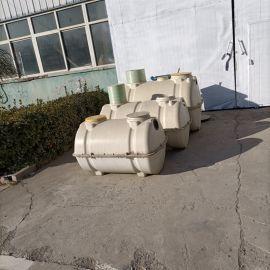 整体式压力罐定制玻璃钢城市排污沉淀池