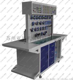 电气组合式双面气压传动与PLC控制综合实验台