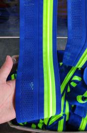 厂家直销 网格穿绳带 钩编松紧带