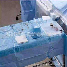 全粘胶无荧光易吸水蓝色医用卫生材料无纺布 浸渍布