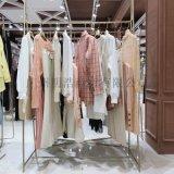 品牌女装折扣朗斯莉时尚新品春装货源市场广州明浩
