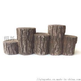 别墅花园人造文化石仿古砖石材原木片汀步石