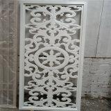大型金属铝花格门窗 氟碳漆古风铝花格