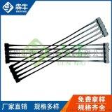 深圳100KN拉伸強度高單向拉伸塑料土工格柵