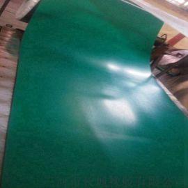 长城橡胶全尺寸全规格绿黑复合防静电橡胶板