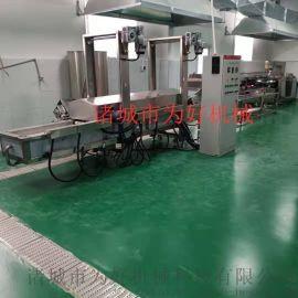 酥脆鱼排油炸机设备货源充足可考察现场试机