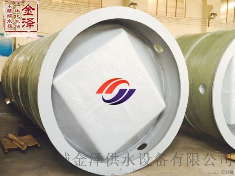 雲南玉溪一體化污水提升泵站廠家介紹